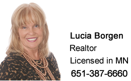 Lucia Borgen, Realtor, Licensed in MN, 651-387-6660
